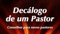 O livro Decálogo de um Pastor é o primeiro E-book do Pastor Júlio Borges Filho e está sendo lançado exclusivamente aqui no site. Ele traz uma série de conselhos para […]
