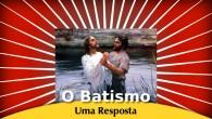 Por Nilson Pereira de Moura, bacharel em Teologia e pastor da ICB Escrevi tempos atrás um texto sobre o batismo com o título acima. Um leitor do nosso sítio mandou […]
